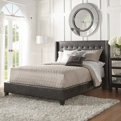 House of Hampton Full/Double Upholstered Platform Bed