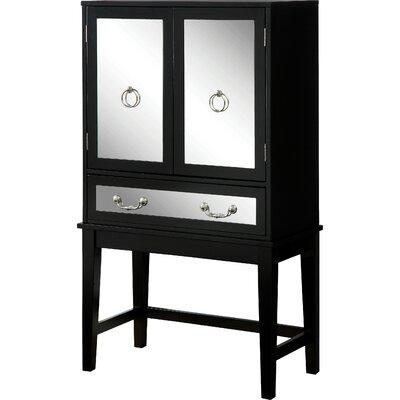 House of Hampton Otrange 6 Bottle Floor Wine Cabinet