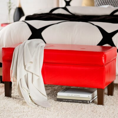 House of Hampton Upholstered Storage Bedroom Bench