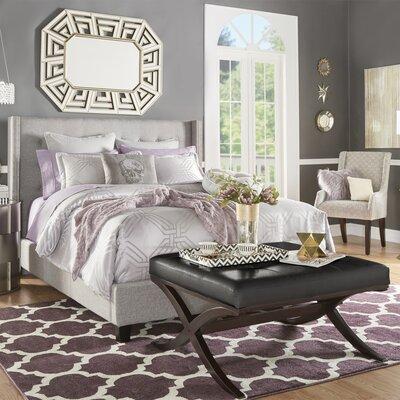 House of Hampton Kipp Upholstered Panel Bed