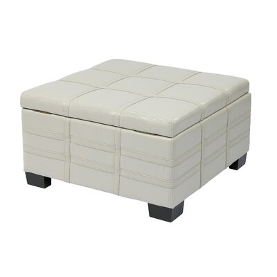 House of Hampton Feldman Strap Ottoman
