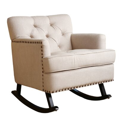 House of Hampton Magness Rocking Arm Chair