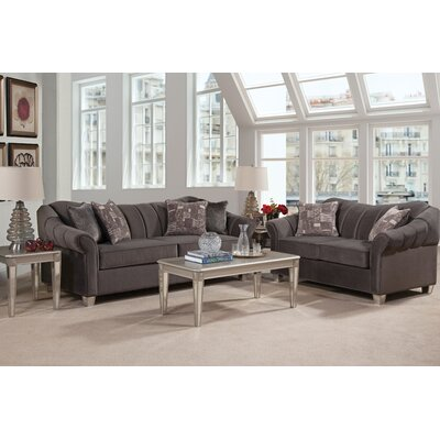 House of Hampton Serta Upholstery Schary 3 Piece Coffee Table Set