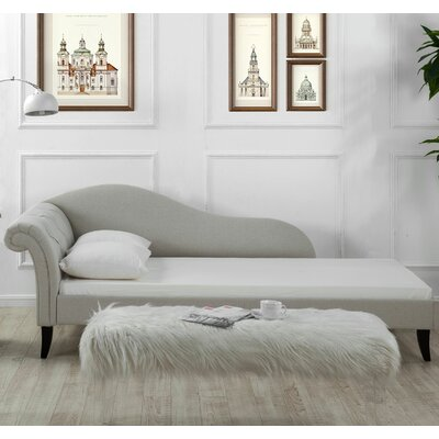 House of Hampton Tiffany Chaise Sofa Bed