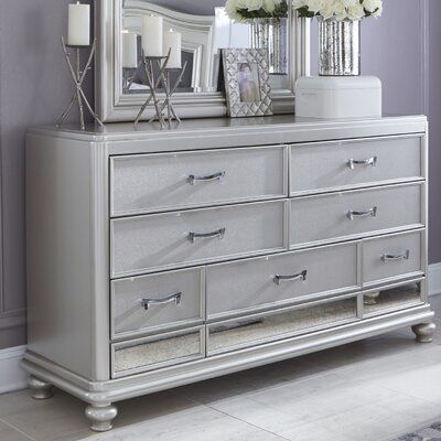 House of Hampton Gasser 7 Drawer Dresser