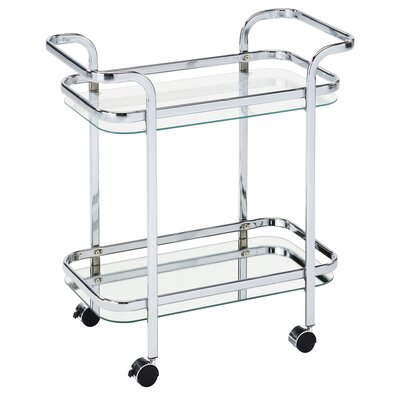 House of Hampton Yves Serving Cart