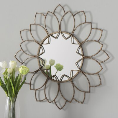Round Wall Mirrors willa arlo interiors brynn traditional round wall mirror & reviews