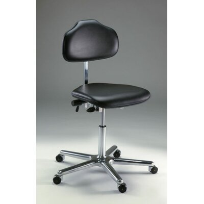 Milagon Stera Office Chair with Self-Breaking Conductive Casters