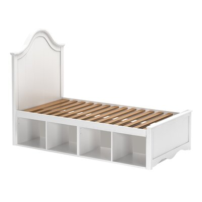 Craft Kids Furniture Charleston Twin Panel Bed with Storage