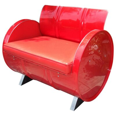 Drum Works Furniture Very Red Armchair