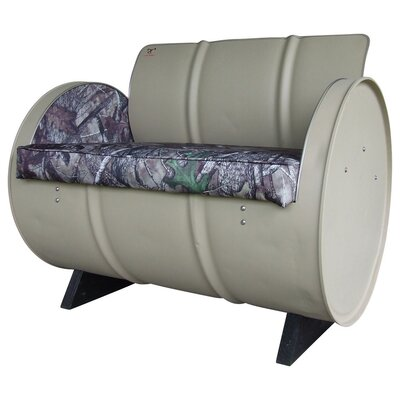 Drum Works Furniture High Tech Concealment True Timber Camo Armchair