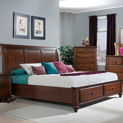 Cambridge Newport Storage Sleigh Bed