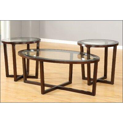Darby Home Co Innisbrook 3 Piece Coffee Table Set by Simmons Casegoods