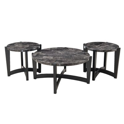 Brayden Studio Isobe Coffee Table Set