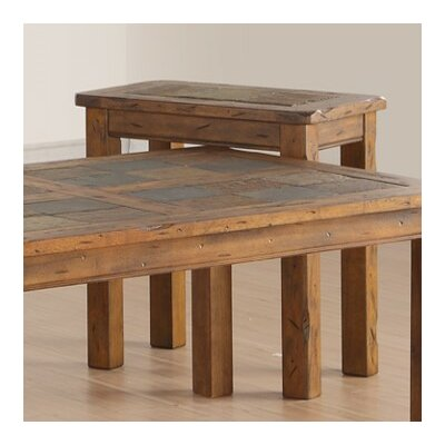 Loon Peak Fraser Chairside Table by Si..