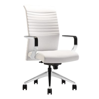 Via Seating Conference Seating High Back Mesh Chair with Loop Arms