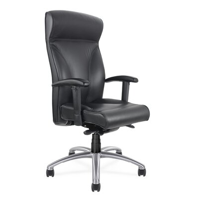 Via Seating Executive Seating High Back Chair with Arms