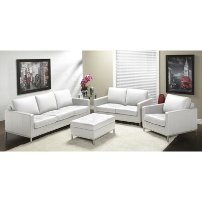 Lind Furniture 244 Series Top Grain Leather Living Room Collection