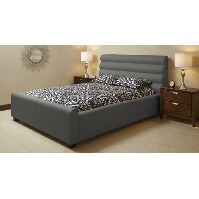 Lind Furniture Upholstered Platform Bed