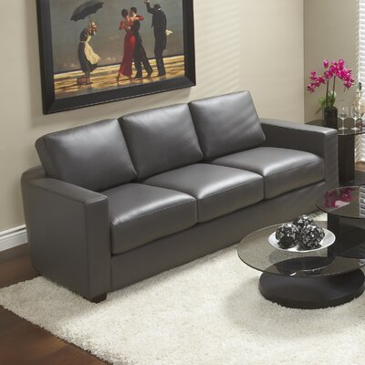 Lind Furniture Marquis Top Grain Leather Sofa