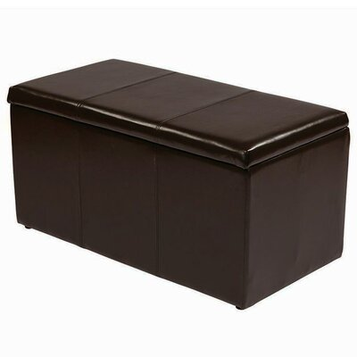Roundhill Furniture Triple Storage Ottoman