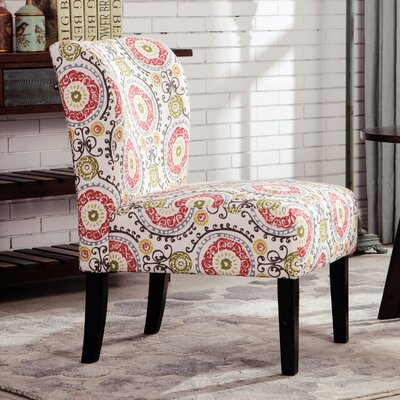 Roundhill Furniture Capa Fabric Slipper Chair