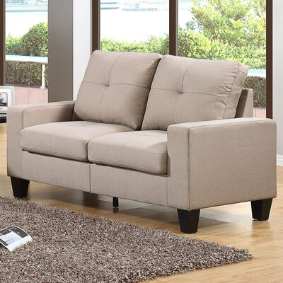 Roundhill Furniture Fernanda Loveseat
