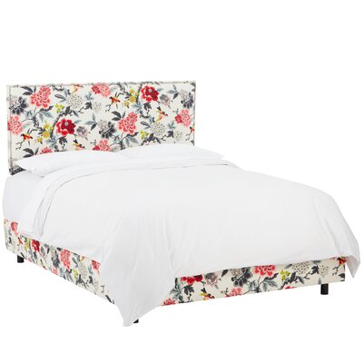 Bungalow Rose Garfield Upholstered Panel Bed