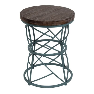 Bungalow Rose Browne Round Accent End Table