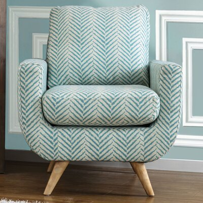 Bungalow Rose Nyah Fabric Armchair