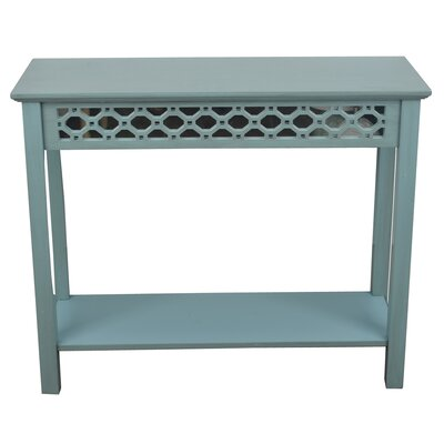 Bungalow Rose Orenda Console Table with Mirror