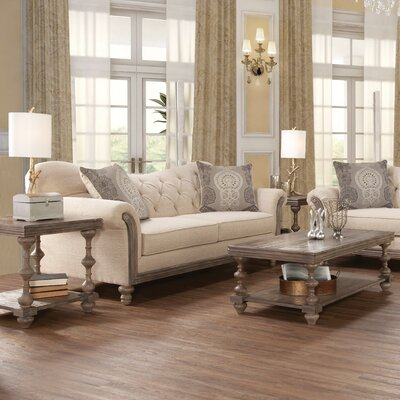 Bungalow Rose Serta Upholstery Vox 3 Piece Coffee Table Set