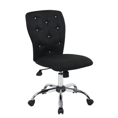 Viv + Rae Lily Mid-Back Task Chair with Tufted Back