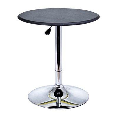 HomCom Modern Adjustable Height Pub Table