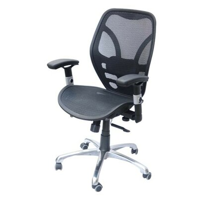 HomCom Deluxe Mesh Ergonomic Office Desk Computer Chair