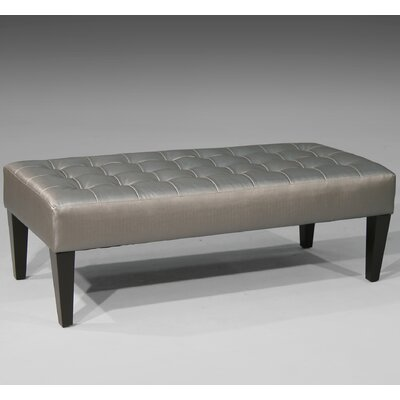 Sage Avenue Keith Tufted Occasional Ottoman