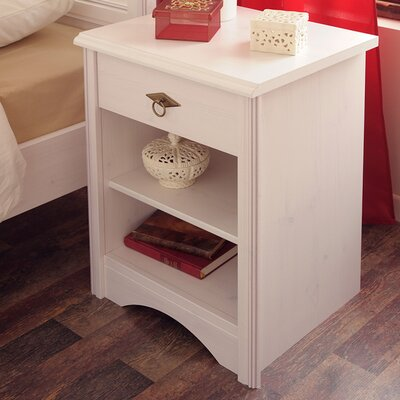 Parisot Marion 1 Drawer Nightstand