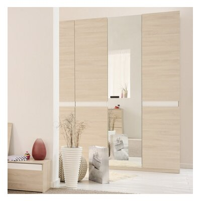 Parisot Mallow 3 Door Wardrobe Armoire