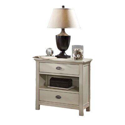 Fairfax Home Collections Pacifica 2 Drawer Nightstand