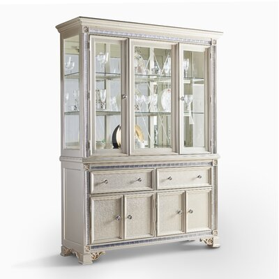 Fairfax Home Collections Tiffany China Cabinet