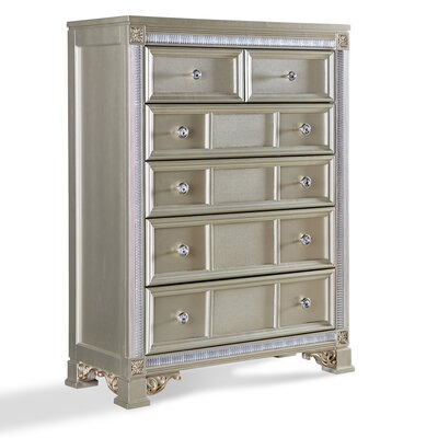 Fairfax Home Collections Tiffany 6 Drawer Chest