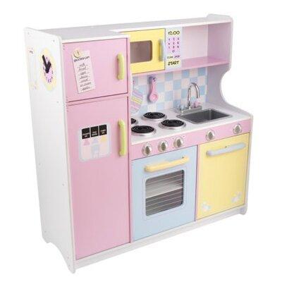 Kidkraft Kitchen kidkraft pastel kitchen & reviews | wayfair