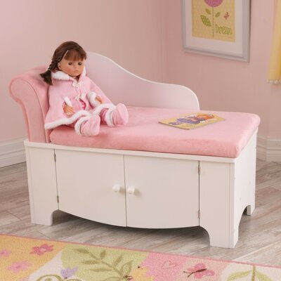kidkraft princess kids polyester chaise lounge & reviews | wayfair