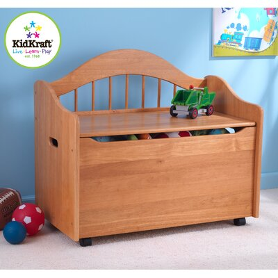 KidKraft Personalized Limited Edition Toy Box In Honey U0026 Reviews | Wayfair