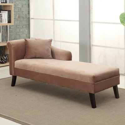 Armen Living Patterson Chaise Lounge