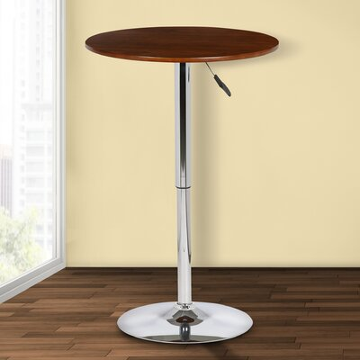 Wade Logan Attar Adjustable Height Pub Table
