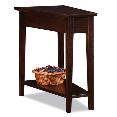 Leick Furniture Chocolate Oak End Table Image