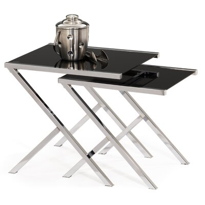 Leick Furniture 2 Piece Nesting Tables