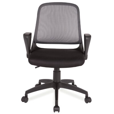 Leick Furniture High-Back Mesh Office Chair with Arms