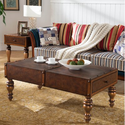 Leick Furniture Gilded Classics Coffee Table